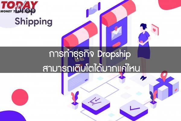 การทำธุรกิจ Dropship สามารถเติบโตได้มากแค่ไหน